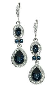 chandeliers earrings chandeliers royal blue chandelier earrings blue crystal