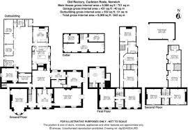 Carleton Floor Plans 7 Bedroom Detached House For Sale In Church Road Carleton Rode