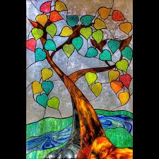 tree of stained glass tree of by madduxworks tree is
