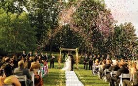 outdoor wedding venues ny outdoor garden wedding in ny nj