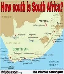Africa Meme - how south is south africa funny meme pmslweb