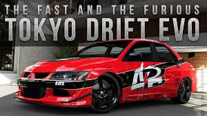 fast and furious evo forza 5 fast furious car build tokyo drift evo youtube