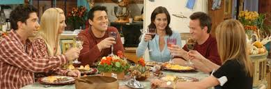 friends cal week 2 the one with all the thanksgivings chaos