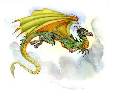 watercolor dragon sketches don maitz