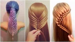 download hairstyle tutorial videos top 5 amazing hairstyles tutorials compilation 2017 youtube