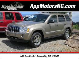 used 2006 jeep grand 2006 jeep grand limited for sale in asheville
