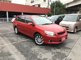 2007 toyota corolla fielder 1 5x g edition used car for sale at