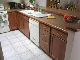 Kitchen Countertops Laminate by Wood Edge Detail For A Laminate Countertop