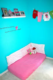 floor bed ideas diy montessori style floor bed bumper toddler time pinterest