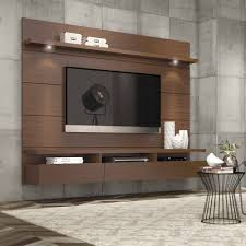 Wall Units For Televisions Manhattan Comfort Cabrini 1 8 Floating Wall Theater Entertainment