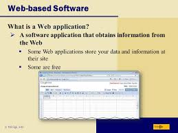 discovering computers 2009 chapter 3 application software ppt