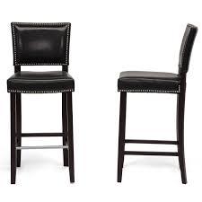 bar stools counter height bar stools with nailheads gray wood