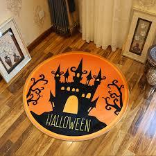new halloween series cartoon crocodile round bathroom carpets