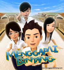film kartun anak sekolah pustaka digital indonesia menggapai bintang film animasi