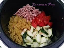 cuisine cookeo one pot pasta au cookéo la cuisine de nany