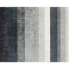 Gray Rug 8x10 Tidal Hand Loomed Blue Grey Rug 8 U0027x10 U0027 Cb2
