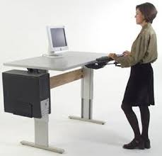 Raised Desk Shelf Computer Desk Workstation Computer Table Office Desk
