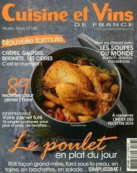cuisines et vins de cuisine et vins de n 168 revue de presse professionnelle