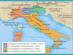 Modena Italy Map Italian Unification