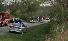 1 killed 4 injured in 3 vehicle vehicle crash in greene county