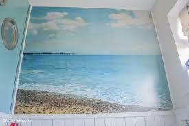 thrifty diy bathroom renovation a beach hut inspired interior