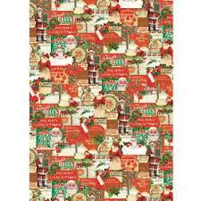 christmas wrap paper vintage santa claus fashion christmas wrapping paper gift wrap
