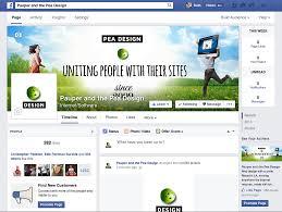 facebook pea design