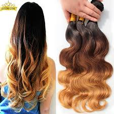 ombre hair extensions xuchang aliexpress peruvian wave ombre hair extension 3pcs