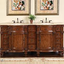 cheap double sink bathroom vanities double bathroom vanities amazon com