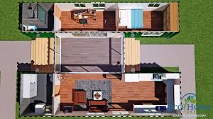 Container House Plans 2 Bedroom House Plans House Plans