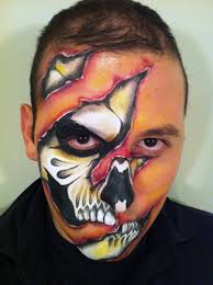 scary face paint google search war paint pinterest scary
