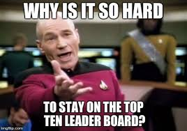 Top Ten Internet Memes - picard wtf meme imgflip