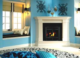 always trend corner gas fireplace ventless u2014 the clayton design