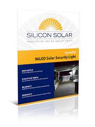 securepal 96 led solar outdoor security flood light solar lights