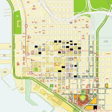 Map Of Downtown San Diego by San Diego Downtown Community Locations
