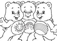 meet bright heart raccoon care bears coloring ag kidzone