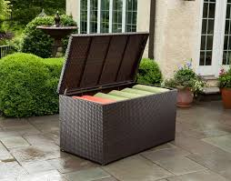 Patio Cushion Storage Bin universal wicker cushion storage box 43 8307 patio productions