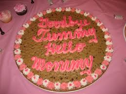 mrs fields cookie cakes jaebellz pink baby shower