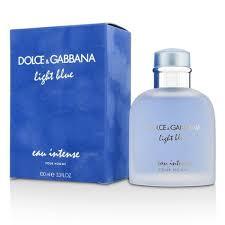 cheapest price for light blue perfume dolce gabbana light blue eau intense 100ml perfume for men best