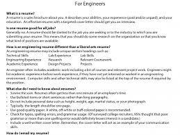 industrial engineer resume sample sample resume for engineer