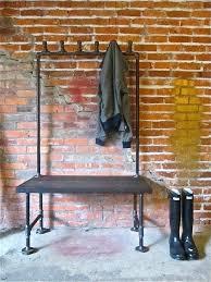industrial coat racks serendipity antique black metal pipe rack