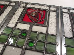 stained glass cabinet door inserts