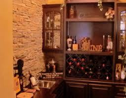 Glass Door Bar Cabinet Bar Beautiful Wet Bar Wine Rack Custom Wine Rack In Bar Area