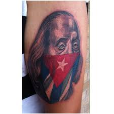 Cuban Flag Meaning Cuban Flag Tattoo Tattoo Collections