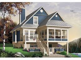 hillside house plans for sloping lots 86 best mountain house plans images on mountain houses