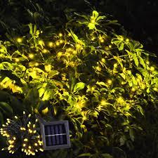 Halloween Party Lights 60 Leds String Light Solar Powered Fairy Tree Light Wedding Xmas