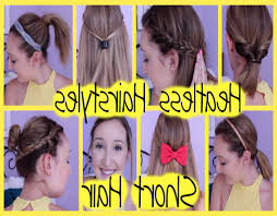 cute and easy hairstyles for short hair worldbizdata com