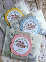 tea bag favors 8 baby shower favors baby sprinkle favors baby shower tea bag