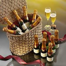 Champagne Gift Basket Mini Indulgence Champagne Hamper Christmas Hampers And Gift