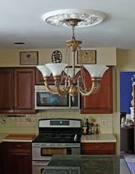 Light Fixture Ceiling Medallion by Acanthus Twist Ceiling Medallion Project Pictures